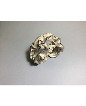 BS14 - COMPRESSIONI - Bracciale in Argento 925/°°° con Zaffiri Naturali in Parure con collana CS12