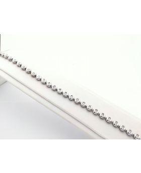 D03 - Bracciale in Oro 750°°° con Diamanti naturali